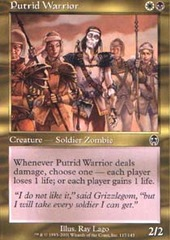Putrid Warrior - Foil