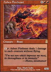 Ashen Firebeast - Foil on Channel Fireball