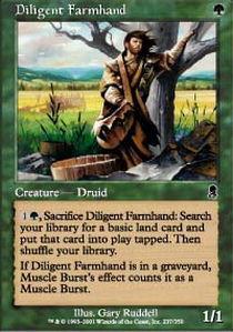 Diligent Farmhand - Foil