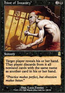 Hint of Insanity - Foil