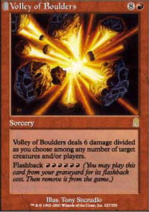 Volley of Boulders - Foil