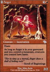 Anger - Foil on Channel Fireball