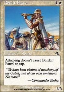 Border Patrol - Foil