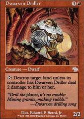 Dwarven Driller - Foil