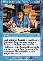 Flash of Insight - Foil on Channel Fireball