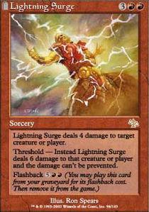 Lightning Surge - Foil