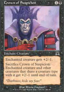 Crown of Suspicion - Foil