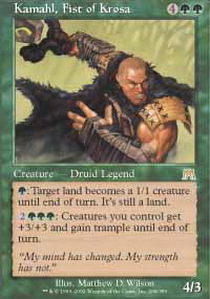 Kamahl, Fist of Krosa - Foil