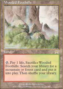 Wooded Foothills - Foil