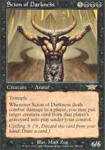 Scion of Darkness - Foil