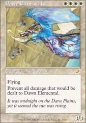 Dawn Elemental - Foil