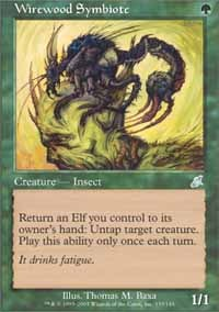 Wirewood Symbiote - Foil