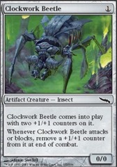 Clockwork Beetle - Foil on Channel Fireball