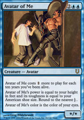 Avatar of Me - Foil on Channel Fireball