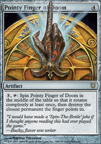 Pointy Finger of Doom - Foil