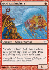 Akki Avalanchers - Foil on Channel Fireball