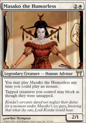 Masako the Humorless - Foil