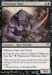 Villainous Ogre - Foil