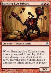 Burning-Eye Zubera - Foil