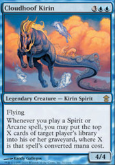 Cloudhoof Kirin - Foil on Channel Fireball