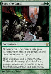 Seed the Land - Foil