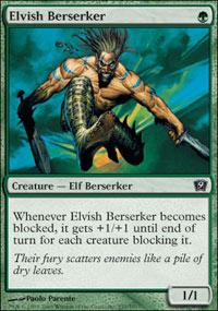 Elvish Berserker - Foil
