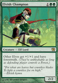 Elvish Champion - Foil