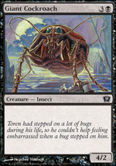 Giant Cockroach - Foil on Channel Fireball