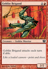Goblin Brigand - Foil on Channel Fireball