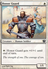 Honor Guard - Foil on Channel Fireball