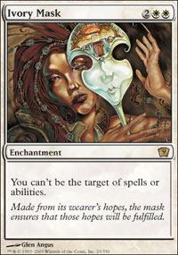 Ivory Mask - Foil