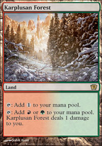 Karplusan Forest - Foil