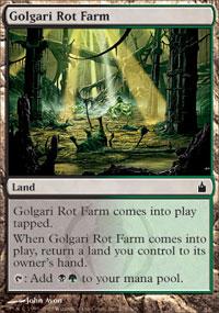 Golgari Rot Farm - Foil
