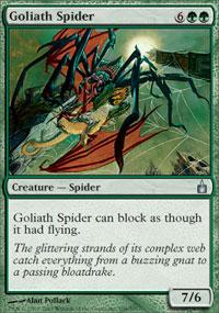 Goliath Spider - Foil