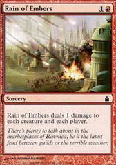 Rain of Embers - Foil