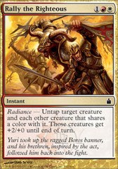 Rally the Righteous - Foil