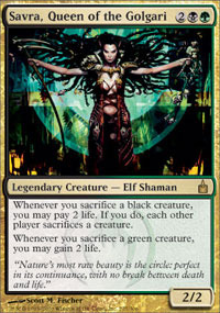 Savra, Queen of the Golgari - Foil