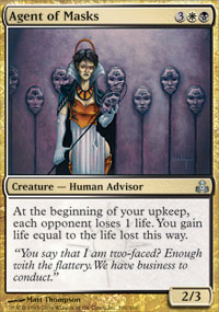 Agent of Masks - Foil