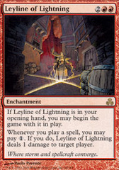 Leyline of Lightning - Foil