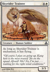 Skyrider Trainee - Foil on Channel Fireball