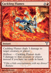 Cackling Flames - Foil on Channel Fireball