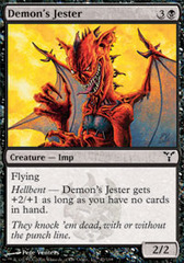 Demon's Jester - Foil