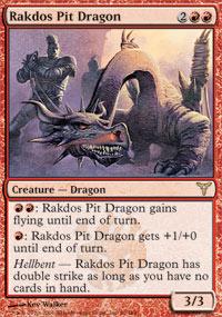 Rakdos Pit Dragon - Foil