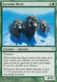 Aurochs Herd - Foil
