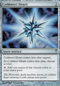 Coldsteel Heart - Foil