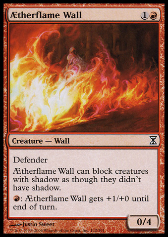 AEtherflame Wall - Foil