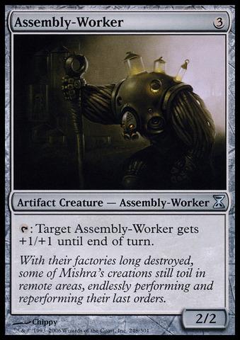 Assembly-Worker - Foil