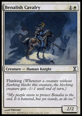 Benalish Cavalry - Foil on Channel Fireball