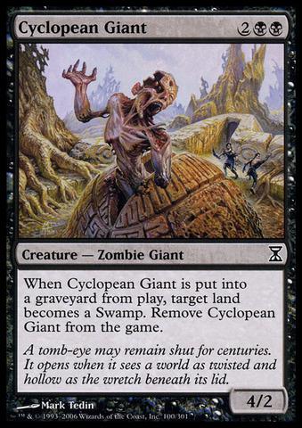 Cyclopean Giant - Foil