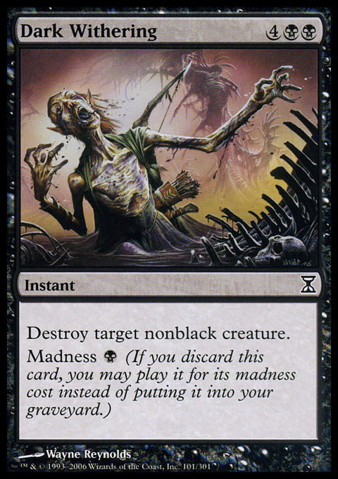 Dark Withering - Foil
